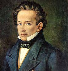 220px Leopardi Giacomo 1798 1837   ritr. A Ferrazzi Recanati casa Leopardi2 LARTE E LA FERITA