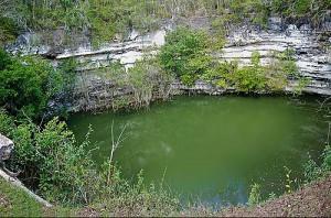 Cenote Sagrado 300x198 CHICHÉN ITZÀ, PATRIMONIO DELLUMANITÀ