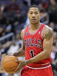 Derrick Rose 2 225x300 PLAY OFF NBA AL VIA, PER JAMES È LA VOLTA BUONA?