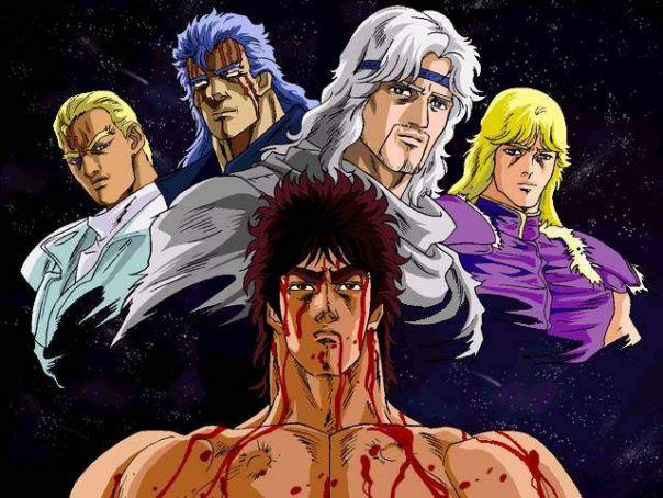Kenshiro il guerriero delle sette stelle di hokuto dal web